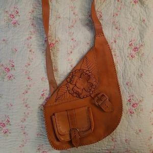 Handbags - Leather Boho Chic purse